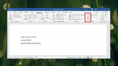 Photo of Cómo crear un índice de acrónimos en Word – Office 365