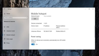 Photo of Cómo mantener siempre activado el punto de acceso móvil en Windows 10
