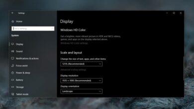 Photo of Cómo deshabilitar el escalado en aplicaciones en Windows 10