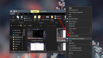 Photo of Cómo escanear un archivo o carpeta con Windows Defender en Windows 10