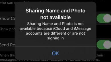 """Photo of Cómo corregir """"Compartir nombre y foto no está disponible"""" en iOS"""