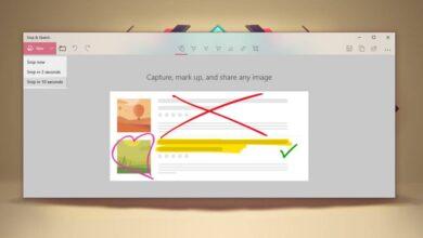 Photo of Cómo tomar capturas de pantalla retrasadas con Snip y Sketch en Windows 10