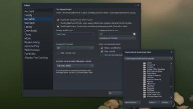 Photo of Cómo cambiar la carpeta de capturas de pantalla de Steam en Windows 10