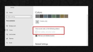 Photo of Cómo corregir el color del espectáculo en la barra de tareas atenuada en Windows 10