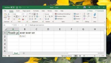 Photo of Cómo corregir el desbordamiento de texto en las celdas en Excel Office 365