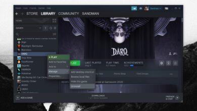 Photo of Cómo desinstalar un juego de Steam en Windows 10