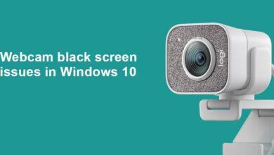 Photo of (CORREGIDO) Problemas con la pantalla negra de la cámara web en Windows 10