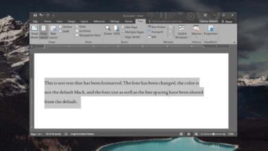 Photo of Cómo ver los detalles del formato de texto en Microsoft Word